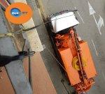 #camión, naranja, desembozos, altura, atascos, pisos, limpieza, Girona