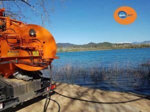 tubería, embozo, limpieza, empresa limpiezas, atascos, Girona, Girojet